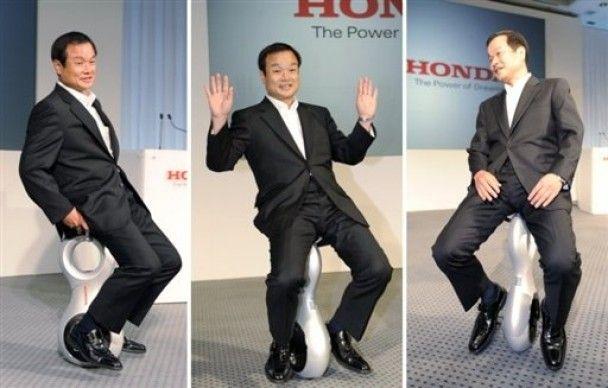 Honda винайшла універсальний уніцикл