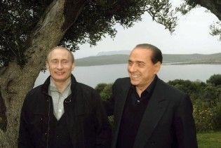 Путін і Берлусконі збираються купити один острів на двох