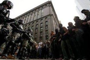 На саміті G20 в Піттсбурзі затримано ще 60 демонстрантів