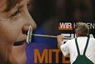 На виборах у Німеччині лідирує партія Меркель