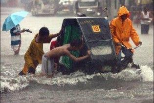 Кількість жертв шторму на Філіппінах досягла 72 осіб