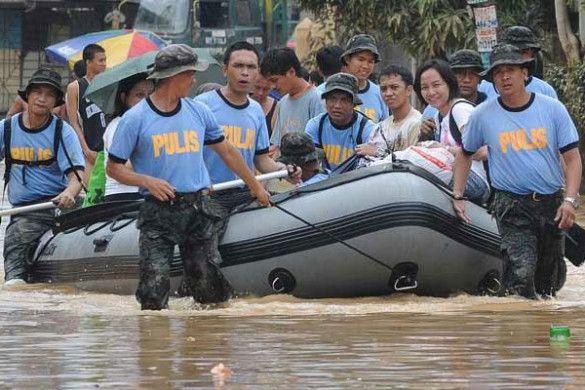 Повінь на Філіппінських островах