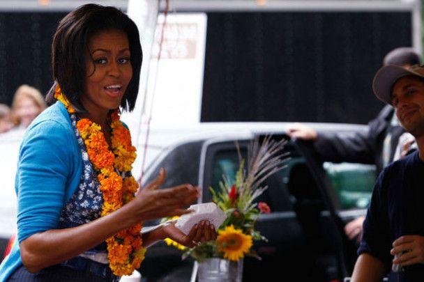 Мішель Обама не сидить на дієті і їсть гамбургери