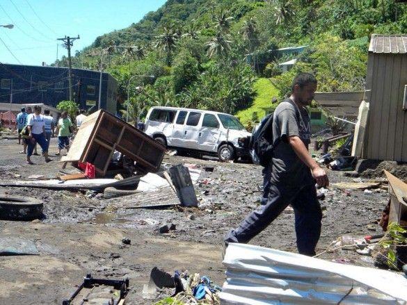 Цунамі у Самоа