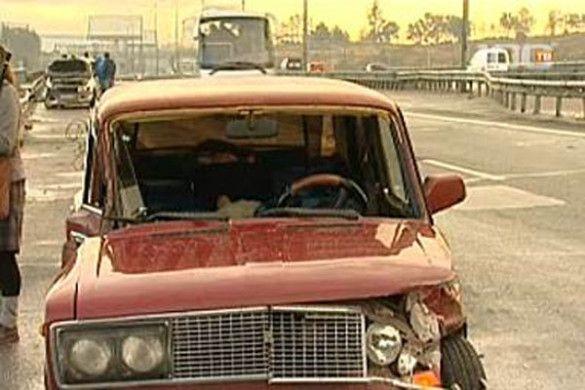 Аварія на КАД: зіткнення 28 машин