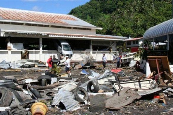 Наслідки цунамі на Самоа