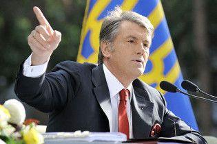 Ющенко заявив, що за три місяці його рейтинг зріс втричі