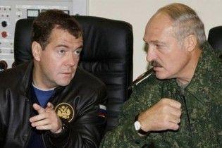 Лукашенко написав Мєдвєдєву листа про нафту