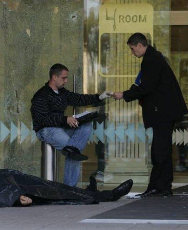 У Києві розстріляли власника торгового центру, дружина - в заручниках
