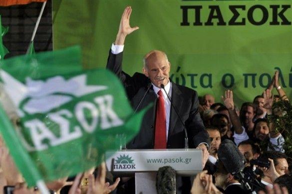 Перемога ПАСОК на виборах в Греції