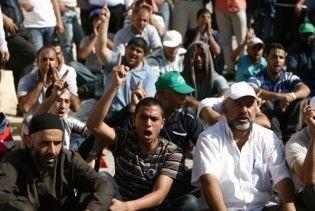 В Єрусалимі сталися зіткнення палестинців з поліцією на Храмовій горі