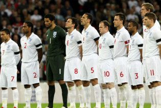 Капелло назвав склад збірної Англії на матч з Україною