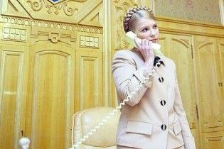 Тимошенко запланувала зателефонувати Путіну о 17 годині