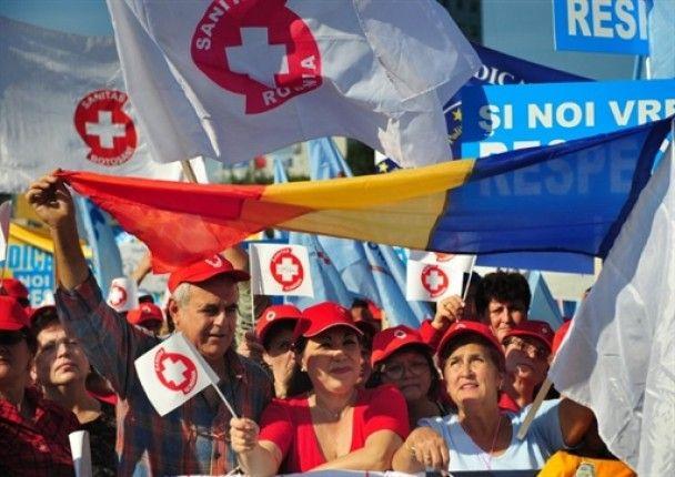 У Румунії тисячі службовців провели протест проти низьких зарплат