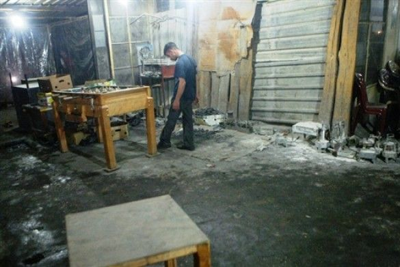 Обстріляне кафе у Тріполі