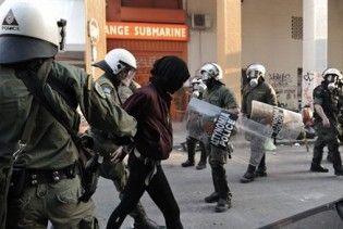 Анархісти влаштували погром у центрі Афін