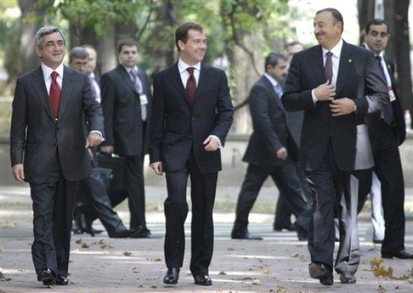 Мєдвєдєв на саміті СНД