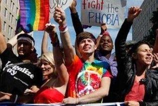 Вашингтон окупували геї та лесбіянки
