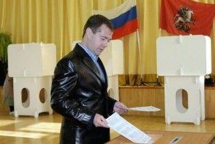 """""""Єдина Росія"""" заявила про тотальну перемогу на виборах"""
