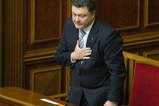 Порошенко заявив, що здійснює закордонні візити за власний рахунок