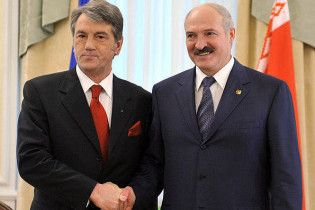 Лукашенко пообіцяв, що Ющенко ніколи не матиме проблем з Білоруссю