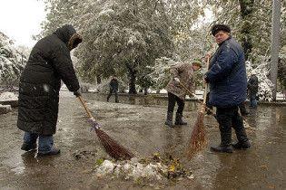 Україну накриють дощі із мокрим снігом