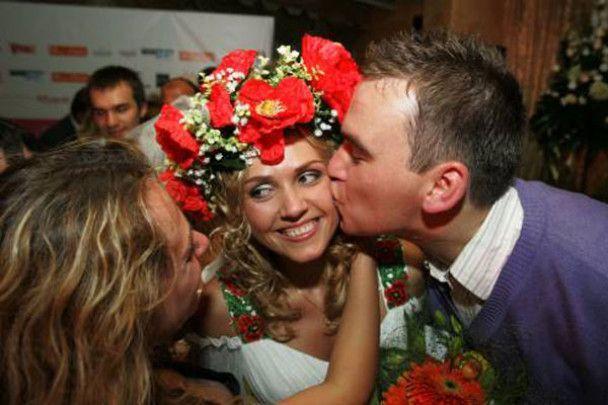 """Фестиваль """"весільних янголів"""" у Києві"""