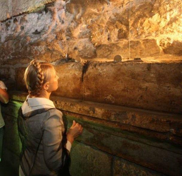 Тимошенко попросила Єрусалимського патріарха помолитися за Україну