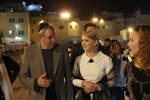 Тимошенко поїхала до Стіни Плачу