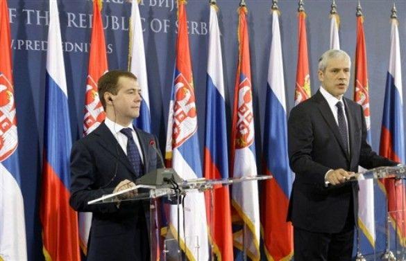 Дмитро Мєдвєдєв та Борис Тадіч