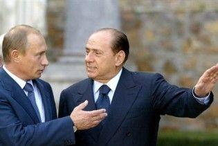 """Путін влаштовує приватну """"газову"""" вечірку з Берлусконі та Шрьодером"""