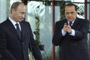 Путін: Берлусконі не лише дівчатами цікавиться