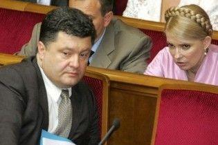 Тимошенко виділила Порошенку 63 мільйони гривень