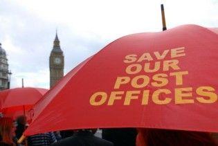 У Британії оголосили страйк 120 тисяч поштарів
