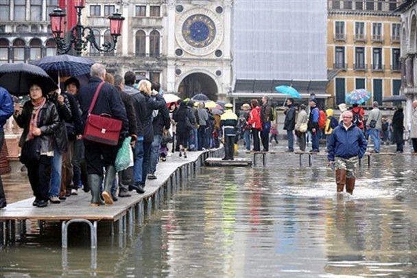 """У Венецію прийшла """"висока вода"""""""