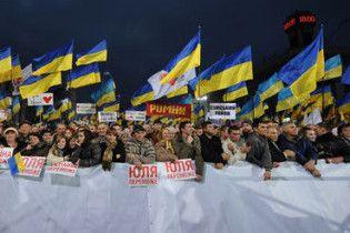БЮТ пояснив, чому Тимошенко не скликає Майдан