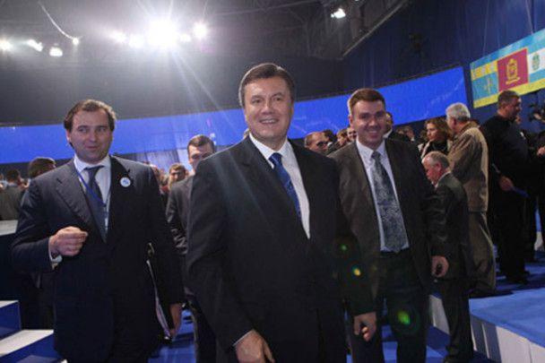 З'їзд ПР висунув Януковича у президенти