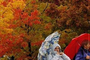 Погода в Україні на середу, 28 жовтня