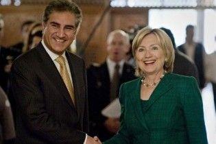 Гіларі Клінтон прибула в Пакистан з триденним візитом