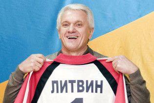 Литвин запропонував написати з нього портрет президента