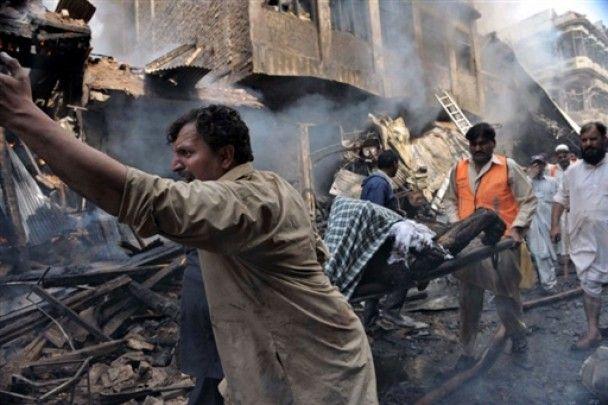 Кількість жертв теракту в Пешаварі сягнула 100 людей