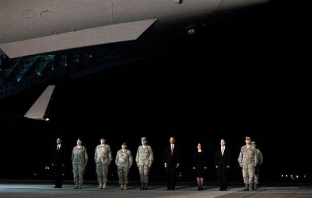 Обама особисто зустрів труни з військовими з Афганістану