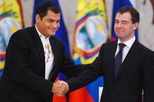 Еквадор пообіцяв Росії визнати незалежність Абхазії та Осетії