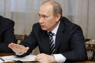 Путін пообіцяв, що нової гонки озброєнь не буде