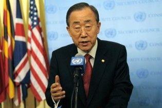 Генсек ООН підтримав введення санкцій відносно КНДР