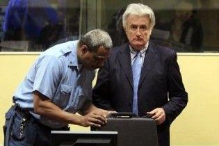 Караджич вирішив припинити бойкот Гаазького трибуналу