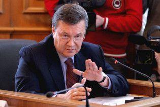 Янукович вимагає ввести карантин по всій Україні