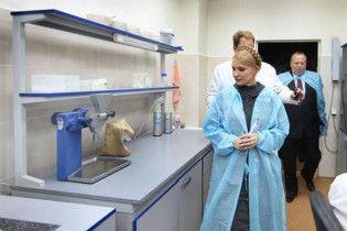 Тимошенко відбула з візитом до Івано-Франківська та Львова