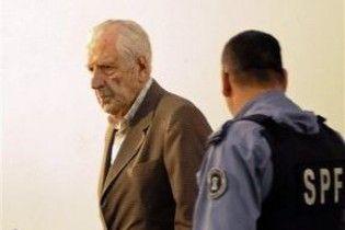 Останній диктатор Аргентини постав перед судом