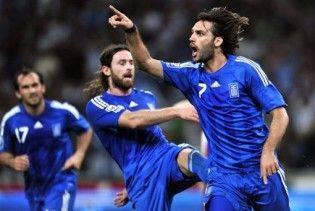 Греція назвала склад на матчі з Україною